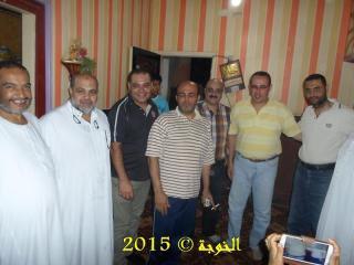 افطار المعلمين بمنزل الاستاذ / رافت السنباوى