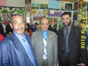 الحسينى محمد فى معرض التعليم الفنى فى ادارة قويسنا التعليمية2016