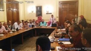 لقاء المعلمين مع اعضاء من مجلس النواب