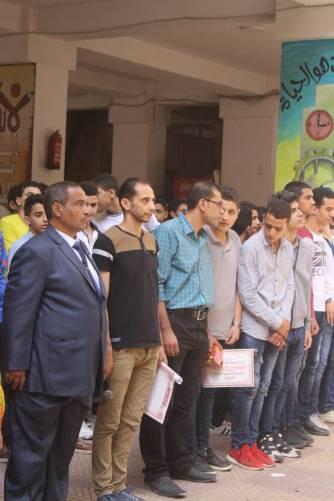 مدرسة التربية الاسلامية - تكريم الاوائل بالمرحلة الثانوية